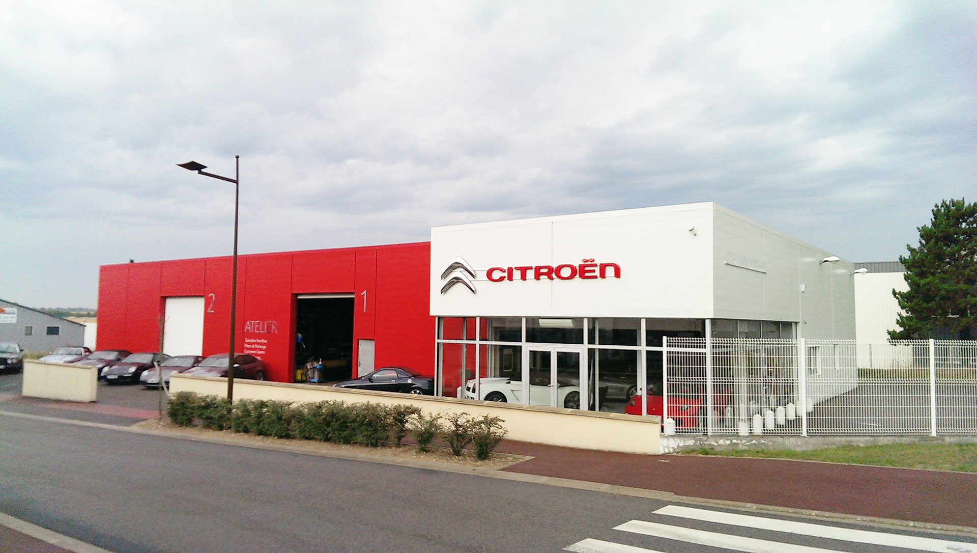 Garage citro n batayer saint mathieu r paration de for Citroen antibes garage